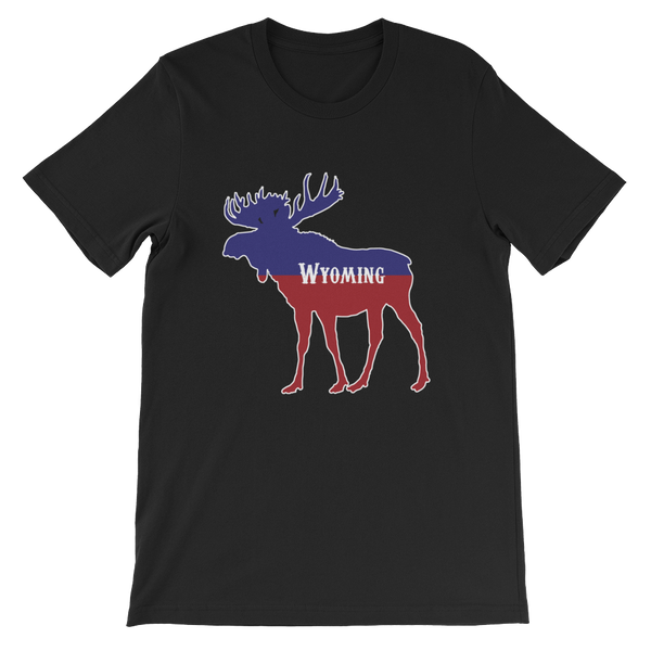 Wyoming Moose - Men's/Unisex Short Sleeve