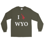I Ski WYO - Men's/Unisex Long Sleeve