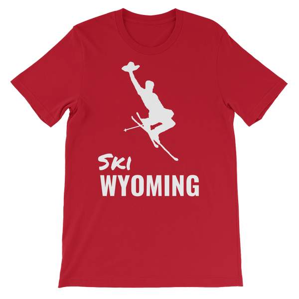 Ski Wyoming - Men's/Unisex Short Sleeve