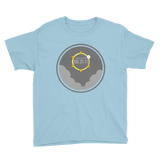 2017 Solar Eclipse View - Kid's/Youth Short Sleeve