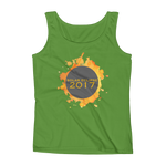 2017 Solar Eclipse Watercolor Burst - Women's Tank