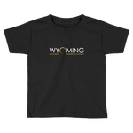 """Headed to Totality"" Wyoming - Kid's/Toddler Short Sleeve"