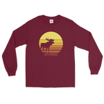 Wyoming Sun Moose - Men's/Unisex Long Sleeve