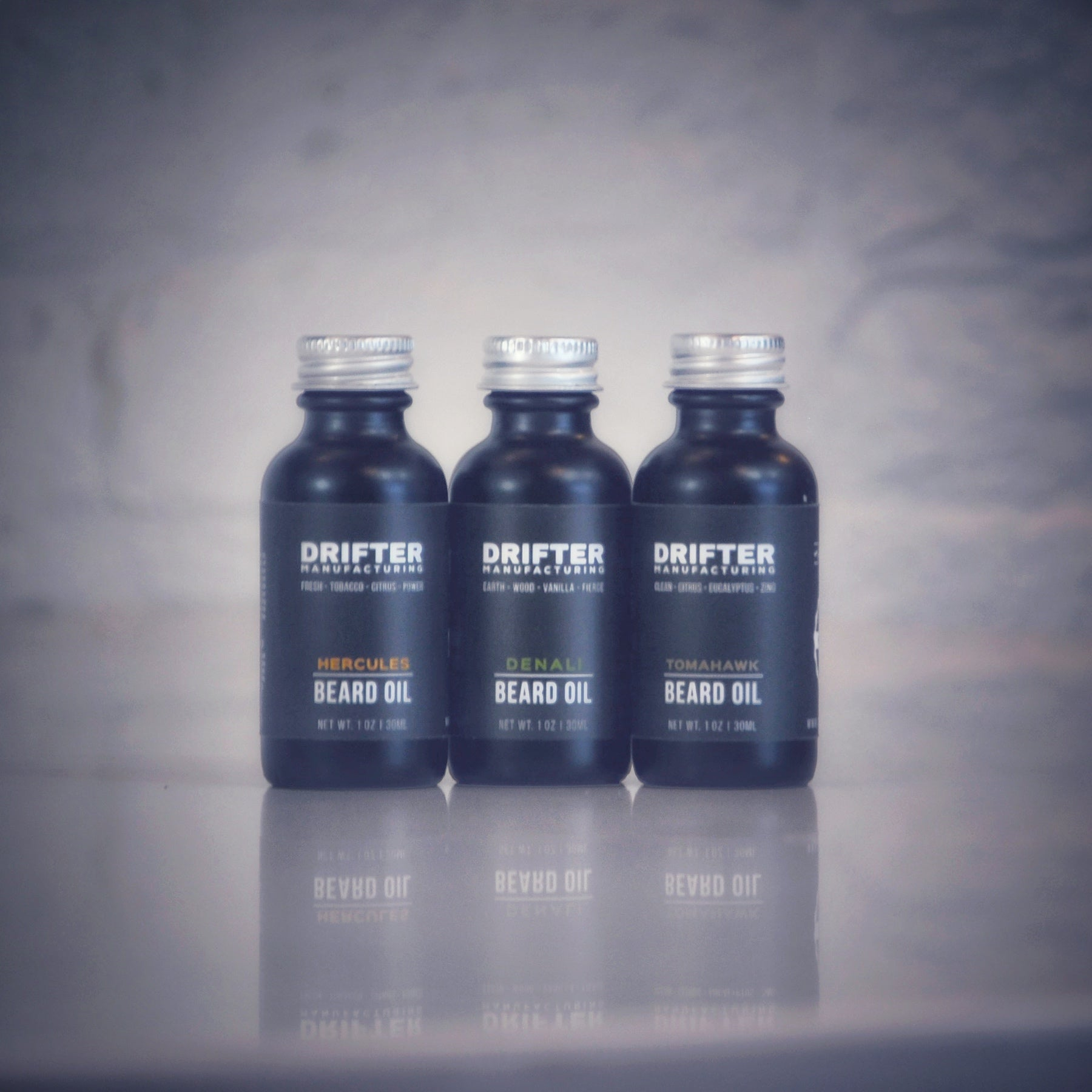 Trifecta Beard Oil Gift Set