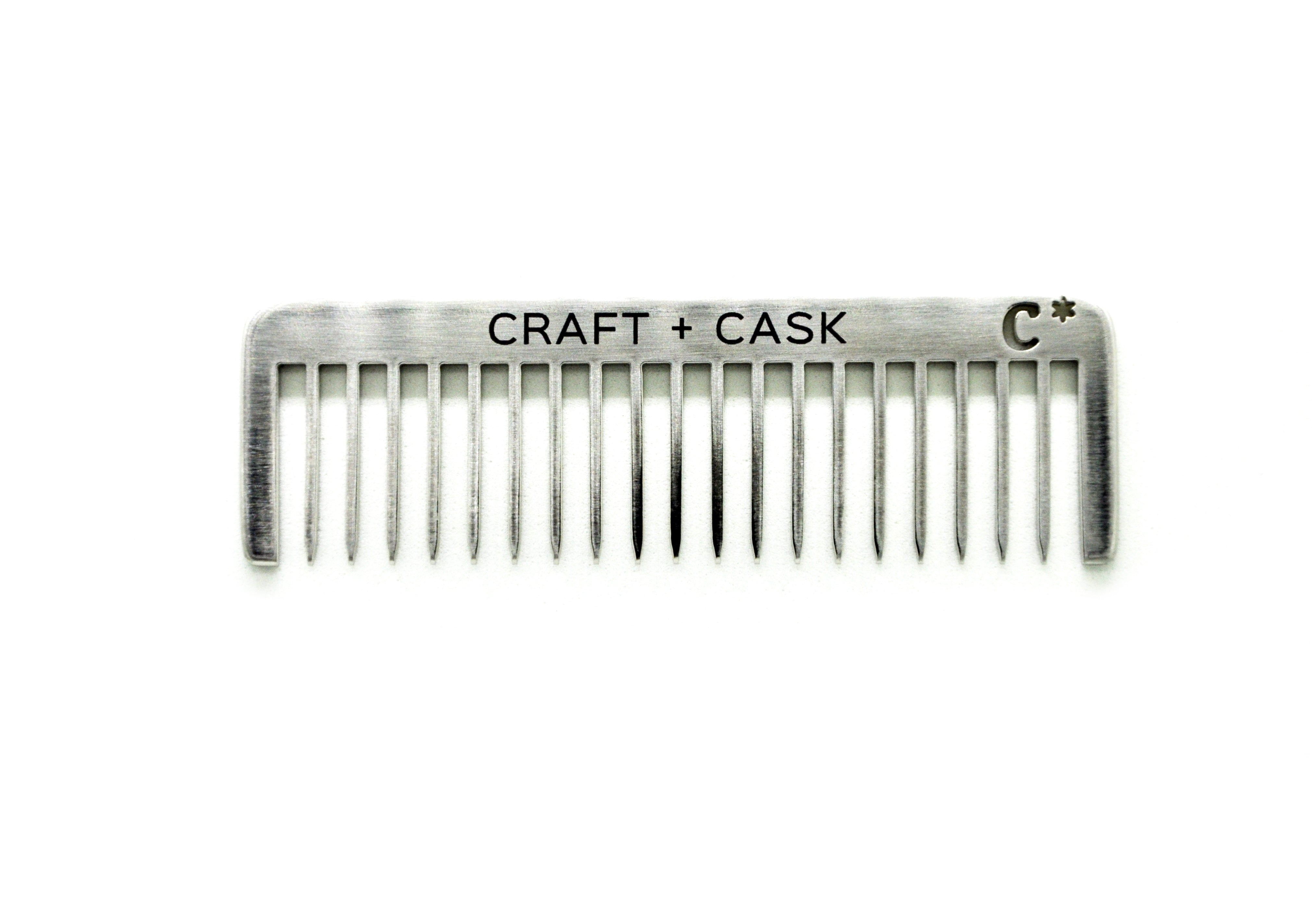 Wholesale - Endeavor Metal Beard Comb