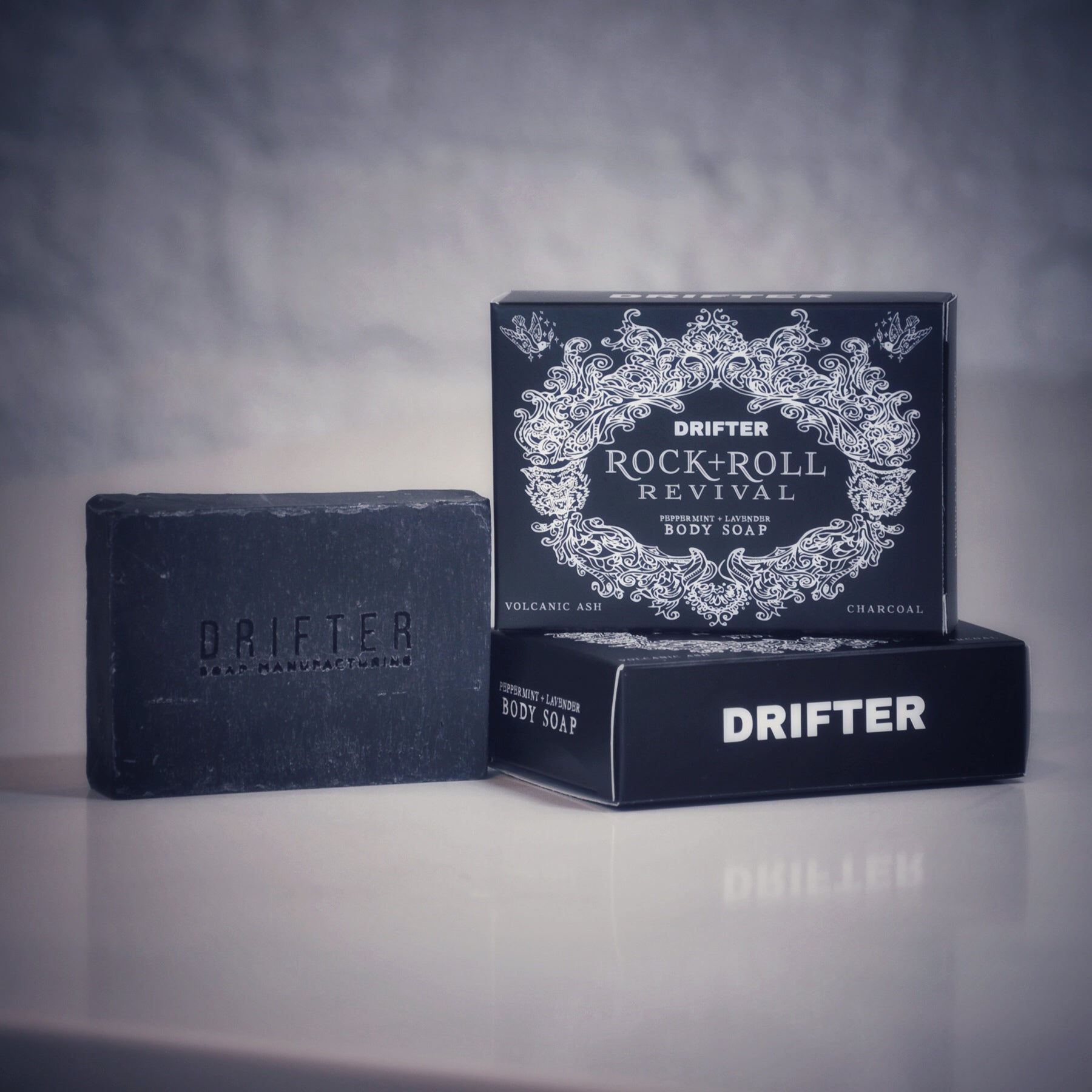 Wholesale - Rock + Roll Revival - Charcoal & Volcanic Ash Soap