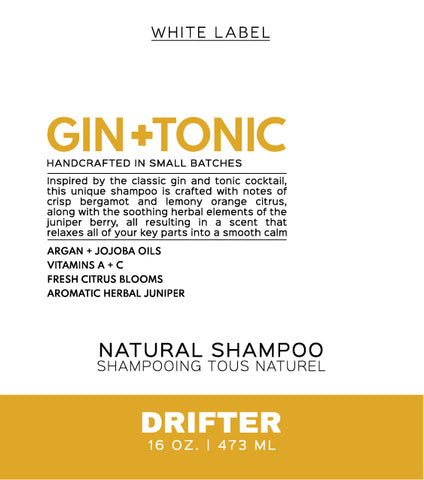 Wholesale - Gin + Tonic Liquid Shampoo