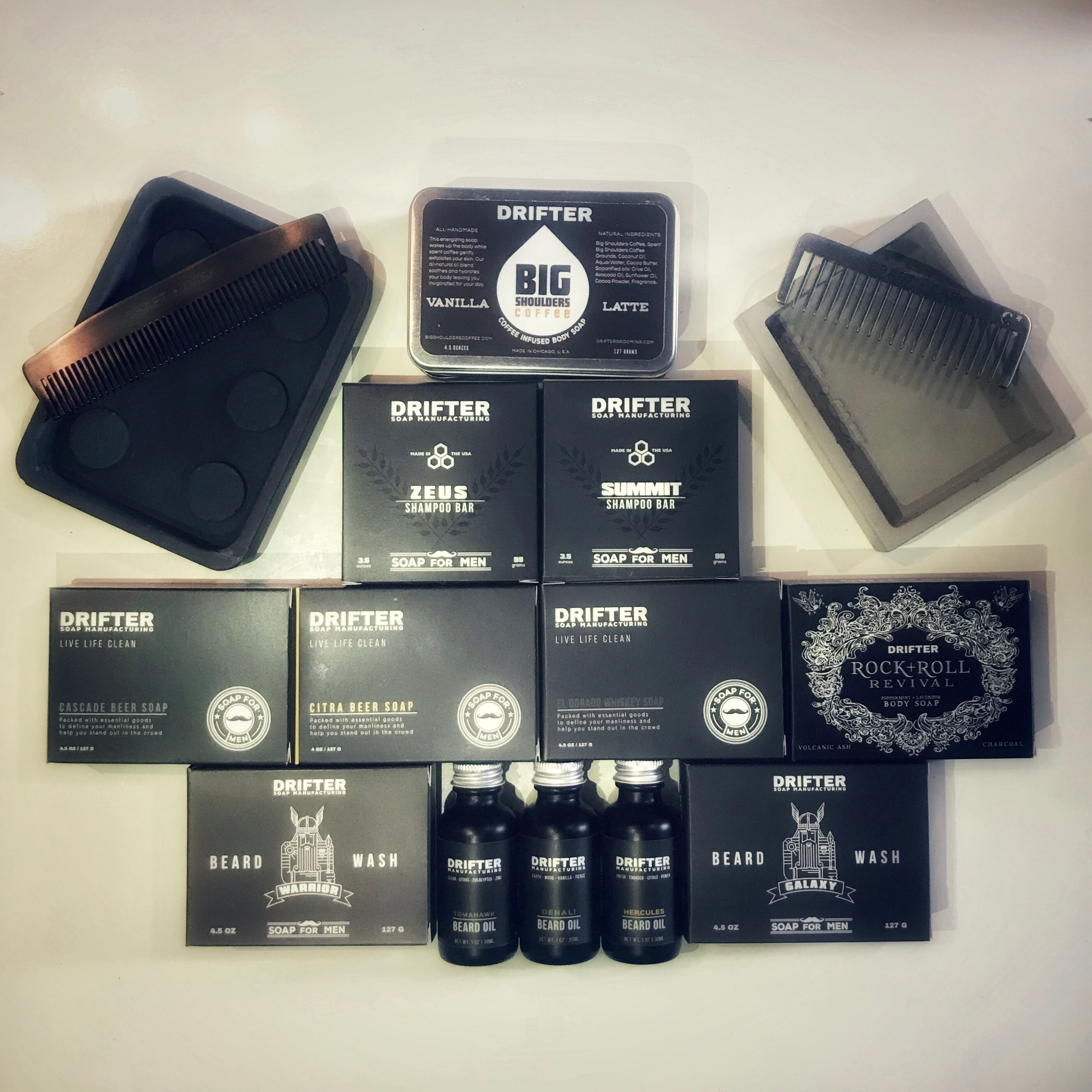 Ultimate Drifter Gift Set - Bearded