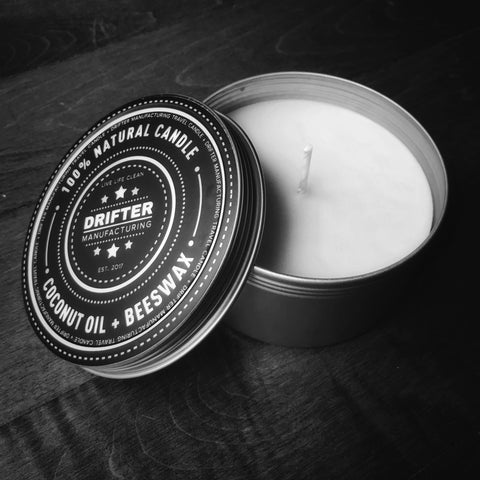 Bourbon Candle - Travel Tin