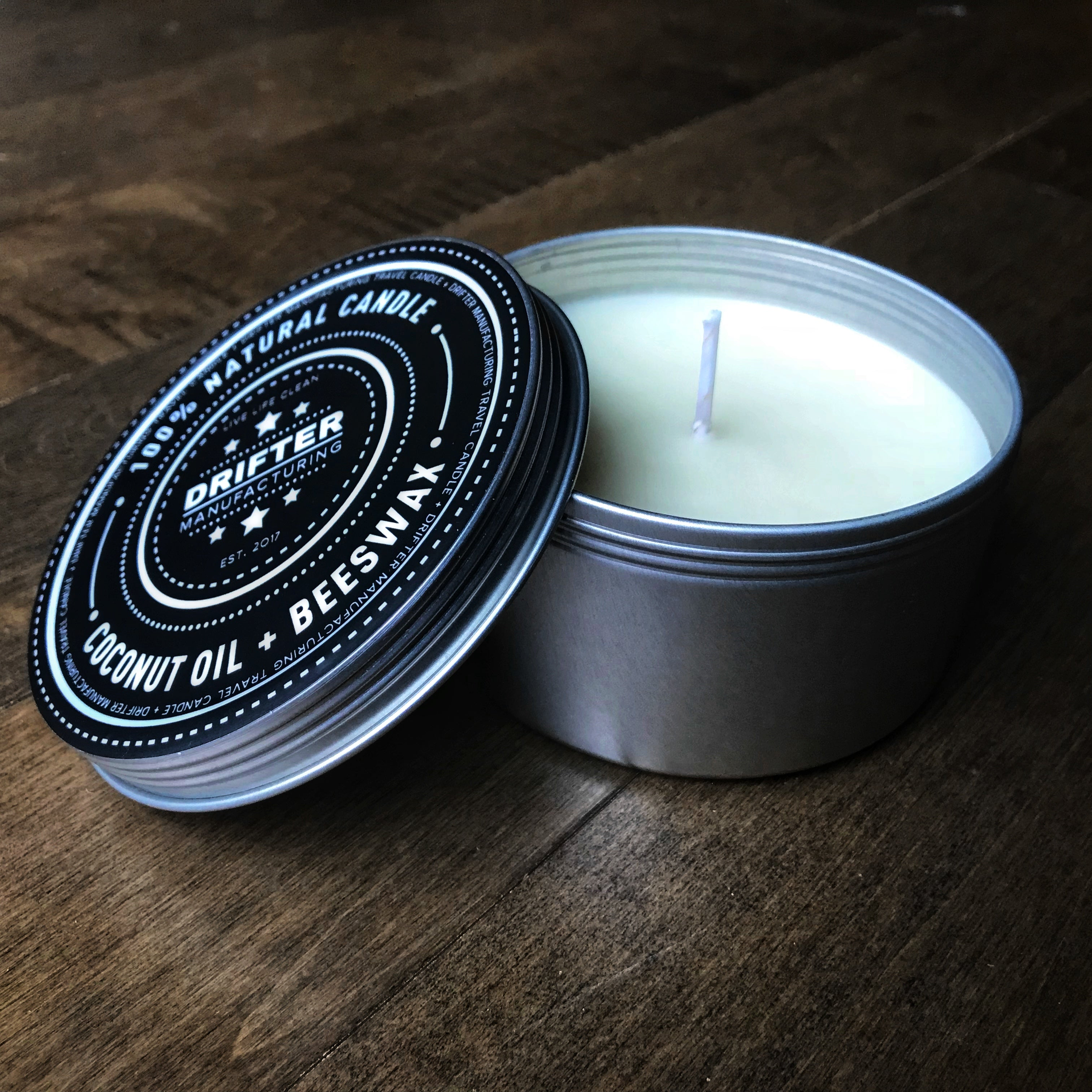 Toasted Coconut Candle - Travel Tin