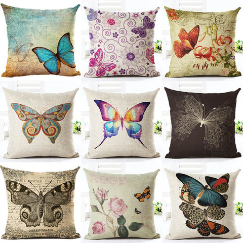 Stunning Butterflies Pillows
