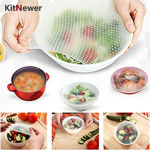 Silicone Reusable Food Wraps