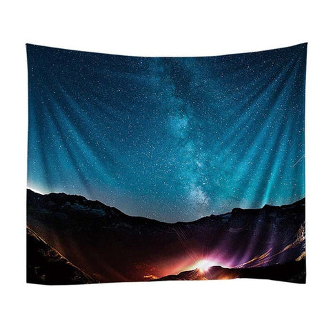 Starchart Tapestry Beach Throw