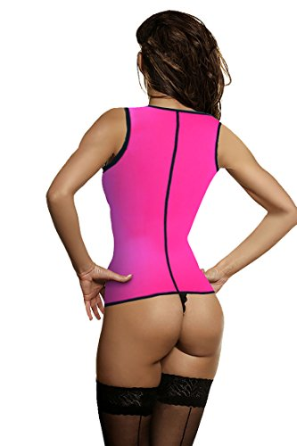 UltraComfy Neoprene Sauna Suit-Top Vest Body Shaper With Waist Trimmer AB Belt & Trainer Sweat Enhancer Promotes Lose Weight