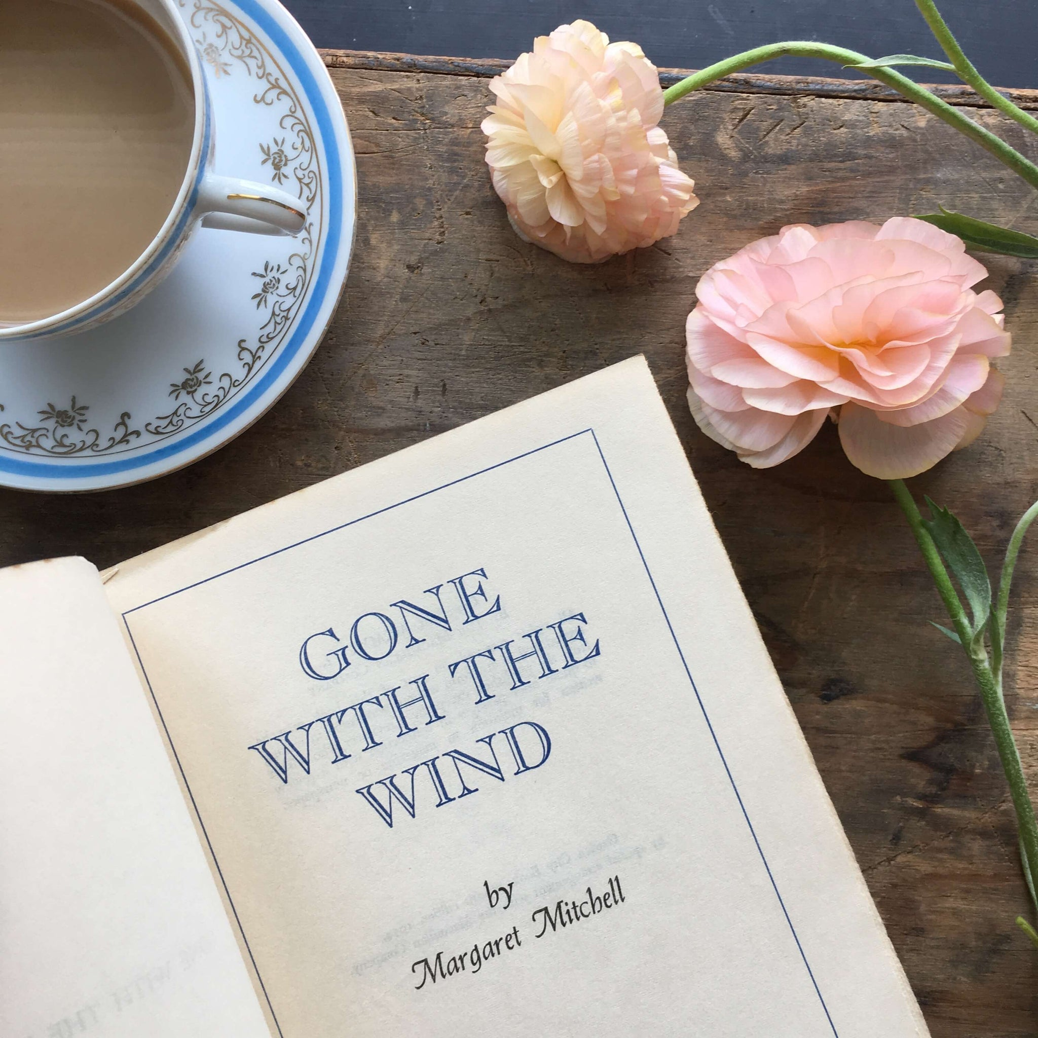 Gone With The Wind - Margaret Mitchell - 1954 Garden City Books Edition