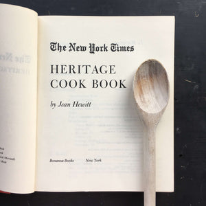 The New York Times Heritage Cook Book - Jean Hewitt - 1980 Edition
