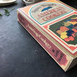 James Beard's American Cookery - Revised 1980 First Edition Paperback