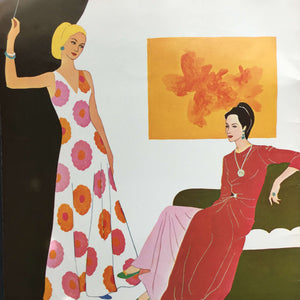 How to Draw and Paint Today's Fashions by Viola French circa 1969 - #124 Walter T. Foster Art Book