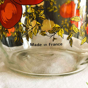 Vintage Spice of Life Canning Jar - Made in France by ARC - 1 Litre Size Storage Container