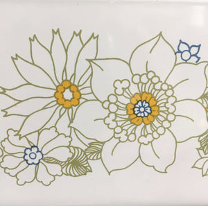 Vintage Corningware Floral Bouquet Loaf Pan - P-315-B - 2 Quart