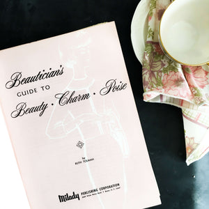 1960s beauticians guide to beauty charm poise book