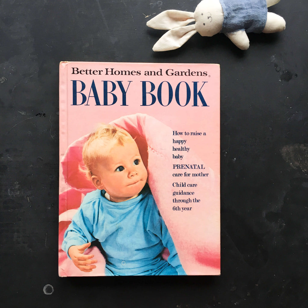Better Homes and Gardens Baby Book - 1973 Edition, Fifth Printing, Fifth Ed. of 1969 Reprint