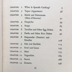 The Spanish Cookbook - Barbara Norman - 1966 First Edition - Traditional Foods of Spain