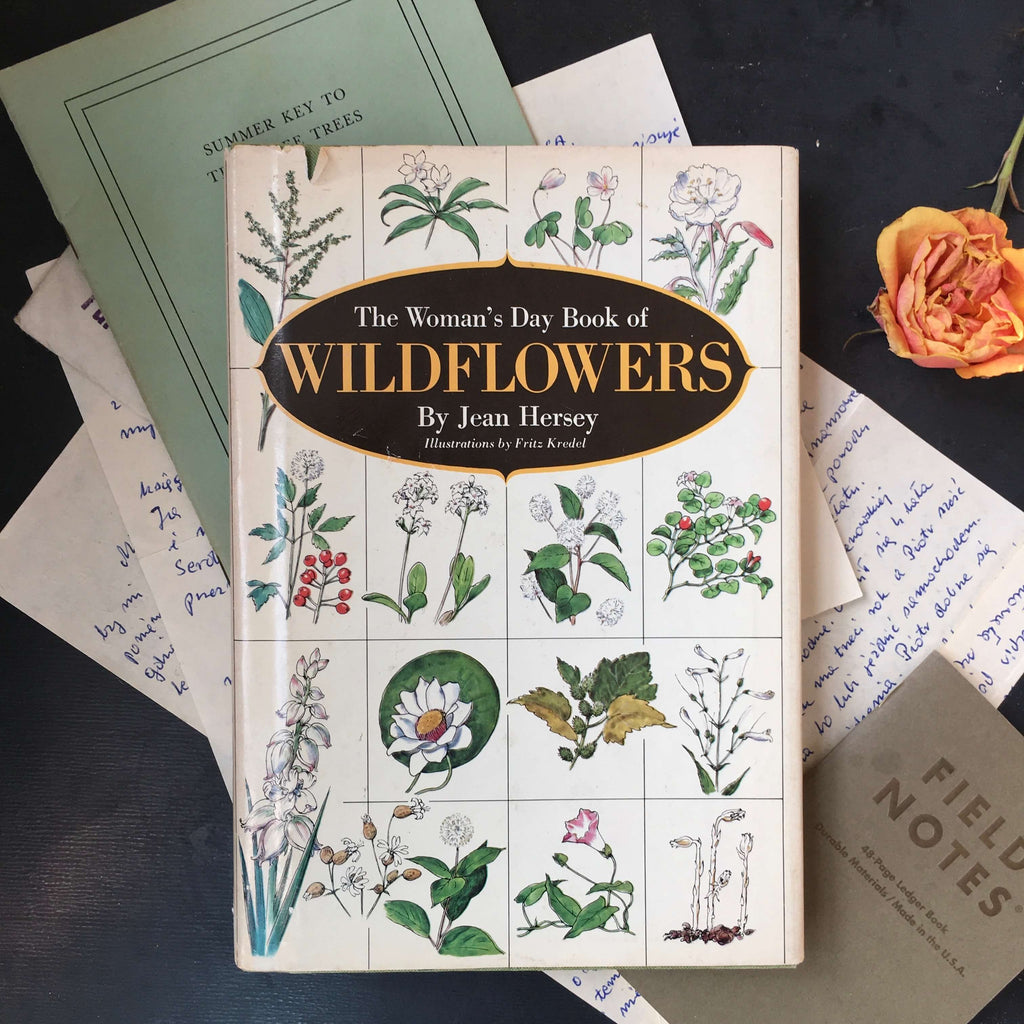 The Woman's Day Book of Wildflowers - Jean Hersey - 1976 Edition - Wildflower Field Guide