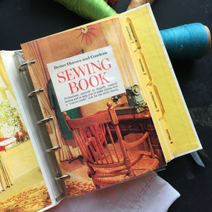 Vintage 1970's Sewing Book - Better Homes & Gardens Sewing Book - 1973 Edition