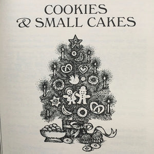 1960s Holiday Baking Book - Visions of Sugar Plums by Mimi Sheraton circa 1968