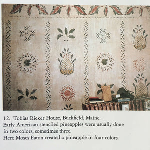 Early American Wall Stencils in Color - Alice Bancroft Fjelstul and Patricia Brown Schad - 1982 First Edition