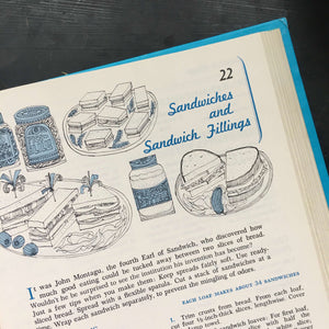 McCall's Cook Book - 1963 Edition - 12th Printing - Turquoise Cover