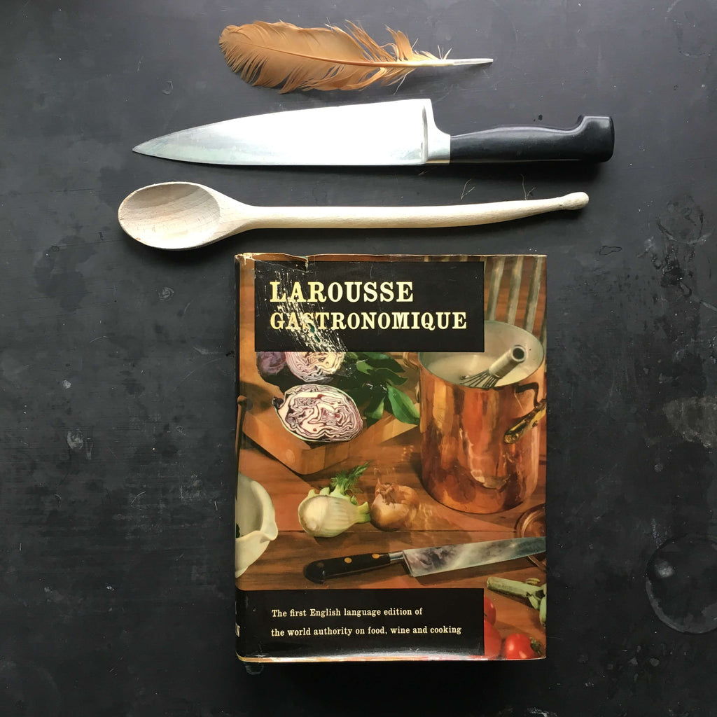Vintage Larousse Gastronomique - 1969 Edition - English Language Version Prosper Montagne