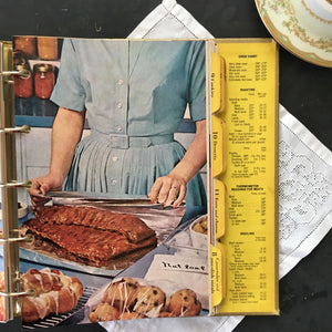 Better Homes and Gardens New Cook Book - 1965 Souvenir Edition - Gold Binder