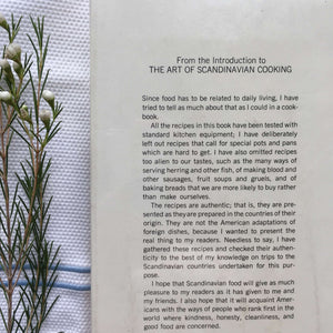 The Art of Scandinavian Cooking - Nina Standen Hazelton - 1966 Edition - Traditional Recipes from Denmark, Finland, Iceland, Norway and Sweden