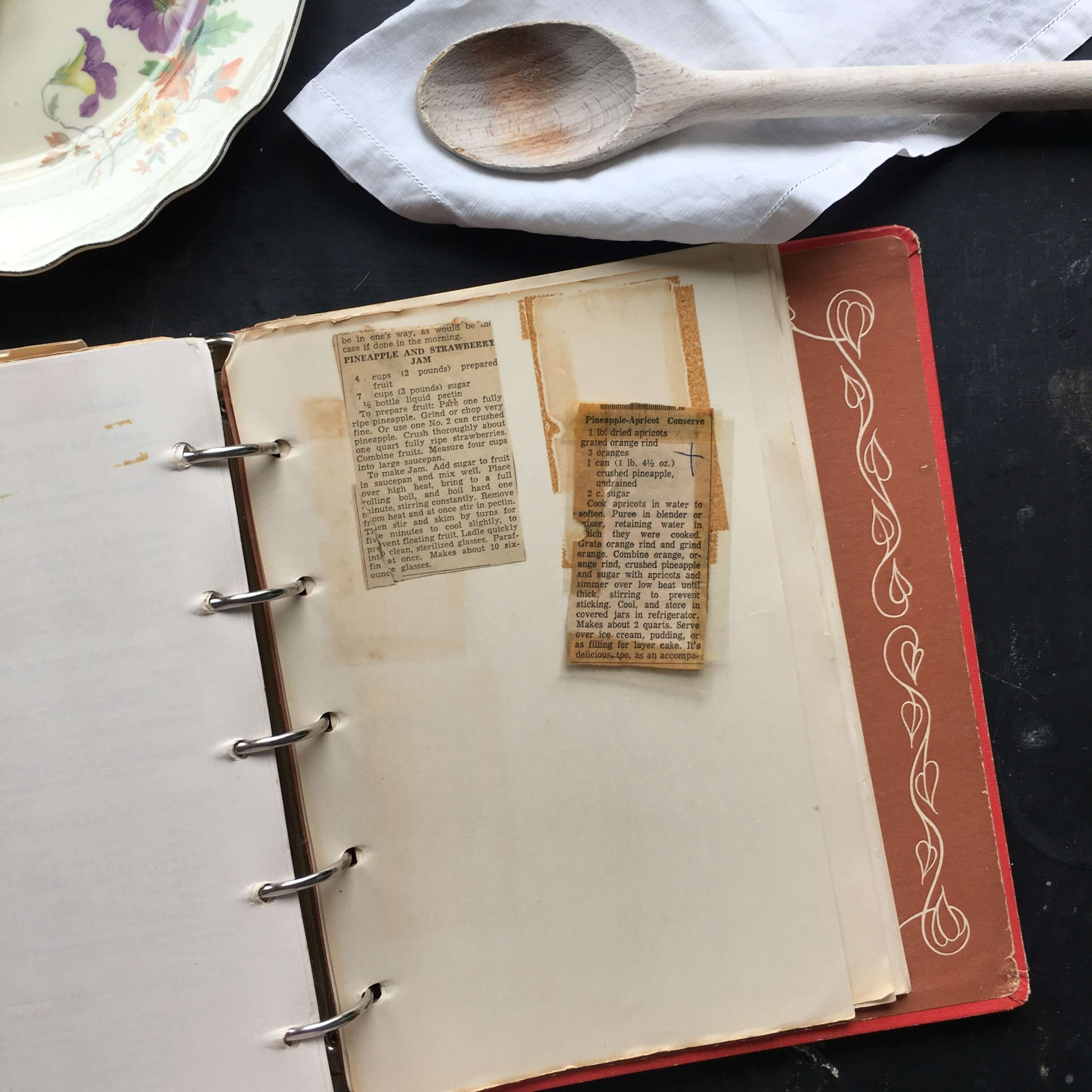 Betty Crocker's Picture Cook Book - 1950 First Edition Fourth Printing with Additional Clipped & Handwritten Recipes