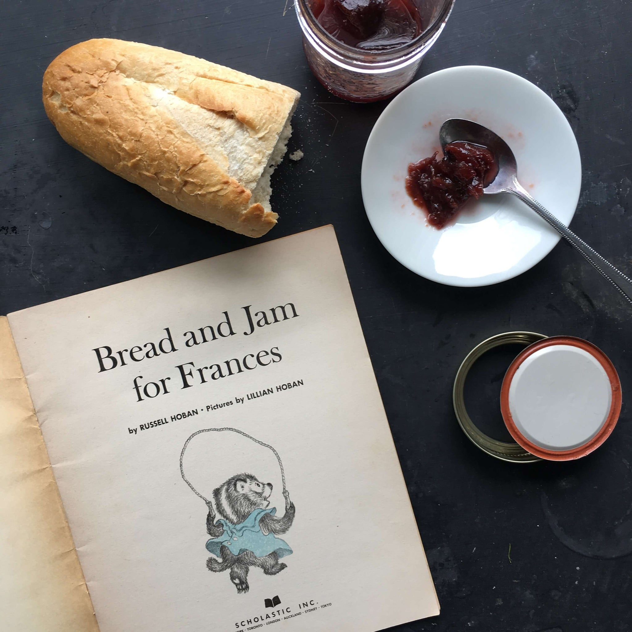 Bread and Jam for Frances - Russell Hoban & Lililan Hoban - 1964 Scholastic Paperback Edition