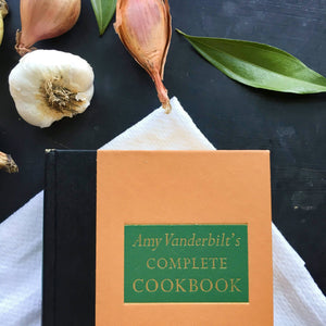 Amy Vanderbilt's Complete Cookbook - 1961 Edition - Drawings by Andy Warhol