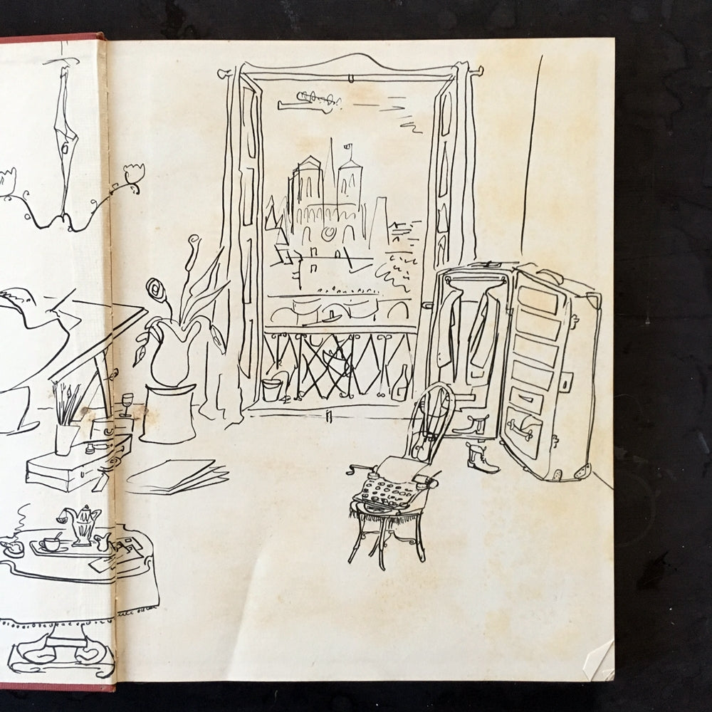 The Best of Times by Ludwig Bemelmans - 1940's Art & Travel Memoir Book - 1948