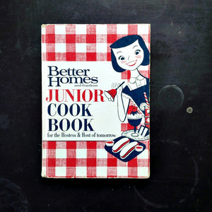 Better Homes and Gardens Junior Cook Book - 1963 Edition, Second Printing