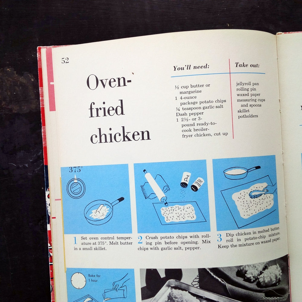 Better Homes & Gardens Junior Cook Book - 1963 Edition, Second Printing