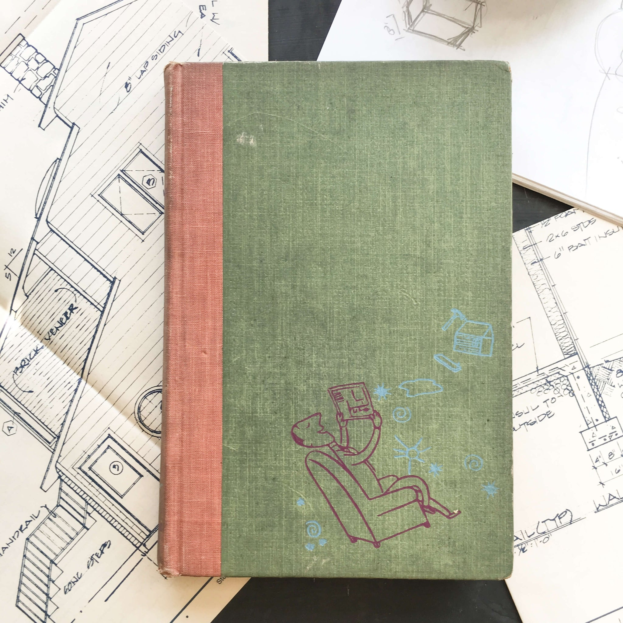Mr. Blandings Builds His Dream House By Eric Hodgins - Illustrated by William Steig circa 1946 edition