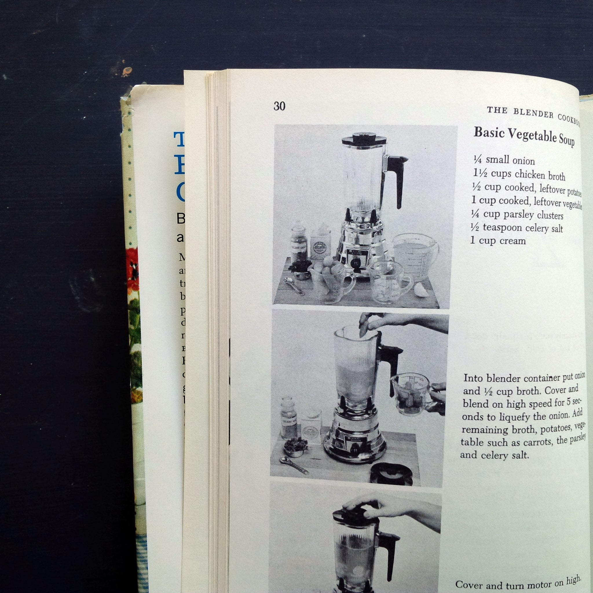 The Blender Cookbook - Ann Seranne, Eileen Gaden - 1960s Blender Recipes