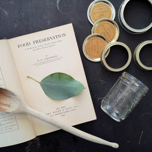 1930's Canning Cookbook & How-To Guide - Food Preservation- W.W. Chenoweth First Edition
