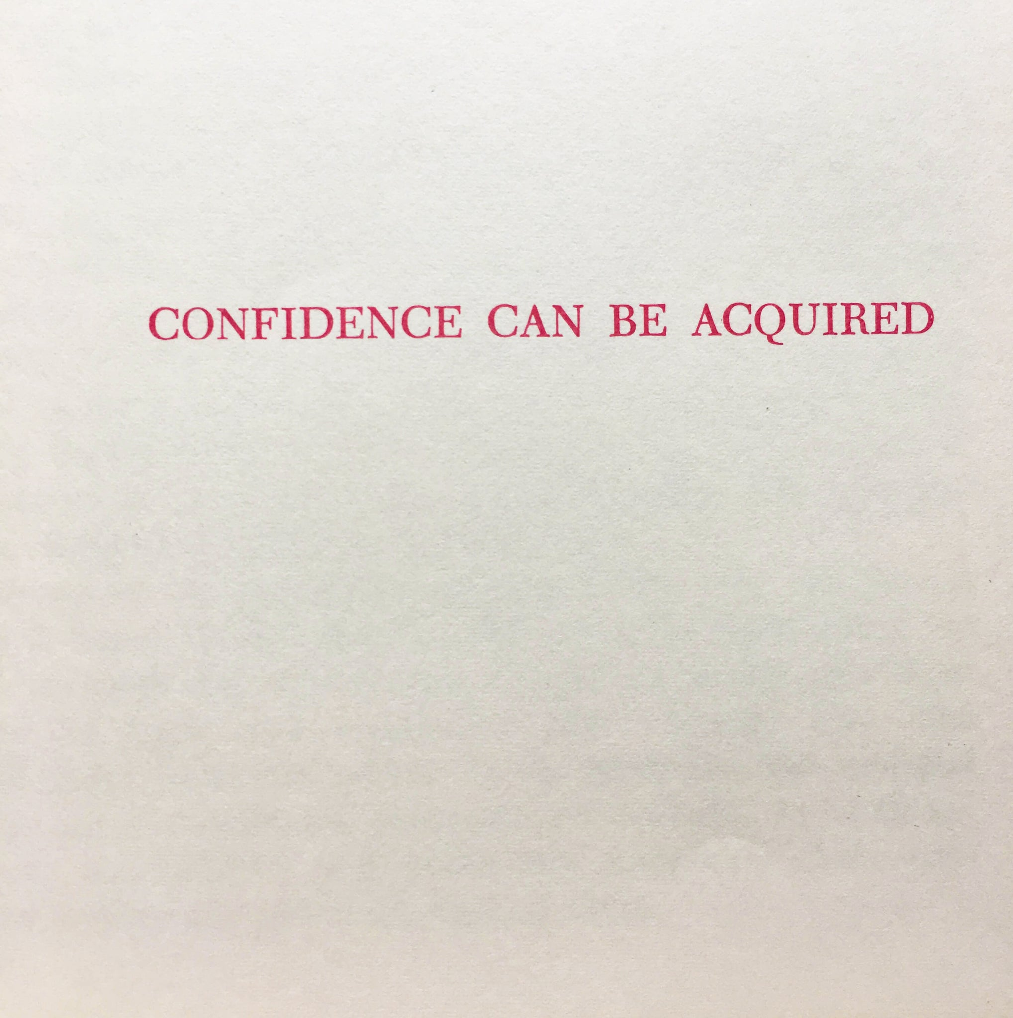 How to Develop Poise and Self-Confidence - Michael Drury for the Amy Vanderbilt Success Program for Women - 1963