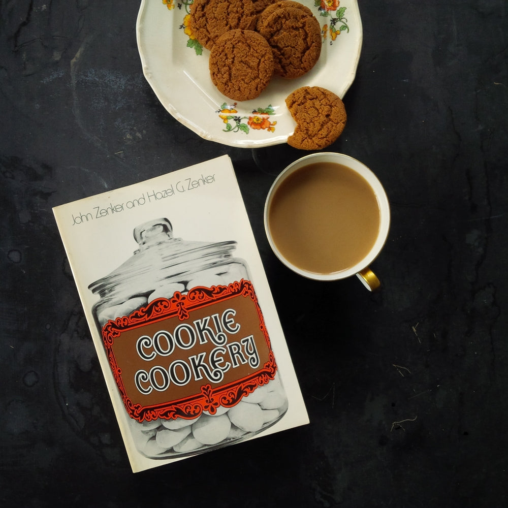 Cookie Cookery by John Zenker And Hazel G. Zenker - 1970's Paperback Edition Baking Book