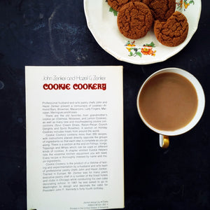 Cookie Cookery by John Zenker And Hazel G. Zenker - 1970's Paperback Edition, Baking Book