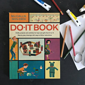 1960's DIY Craft Book - McCall's Golden Do-It Book by Golden Press, 1969 Edition