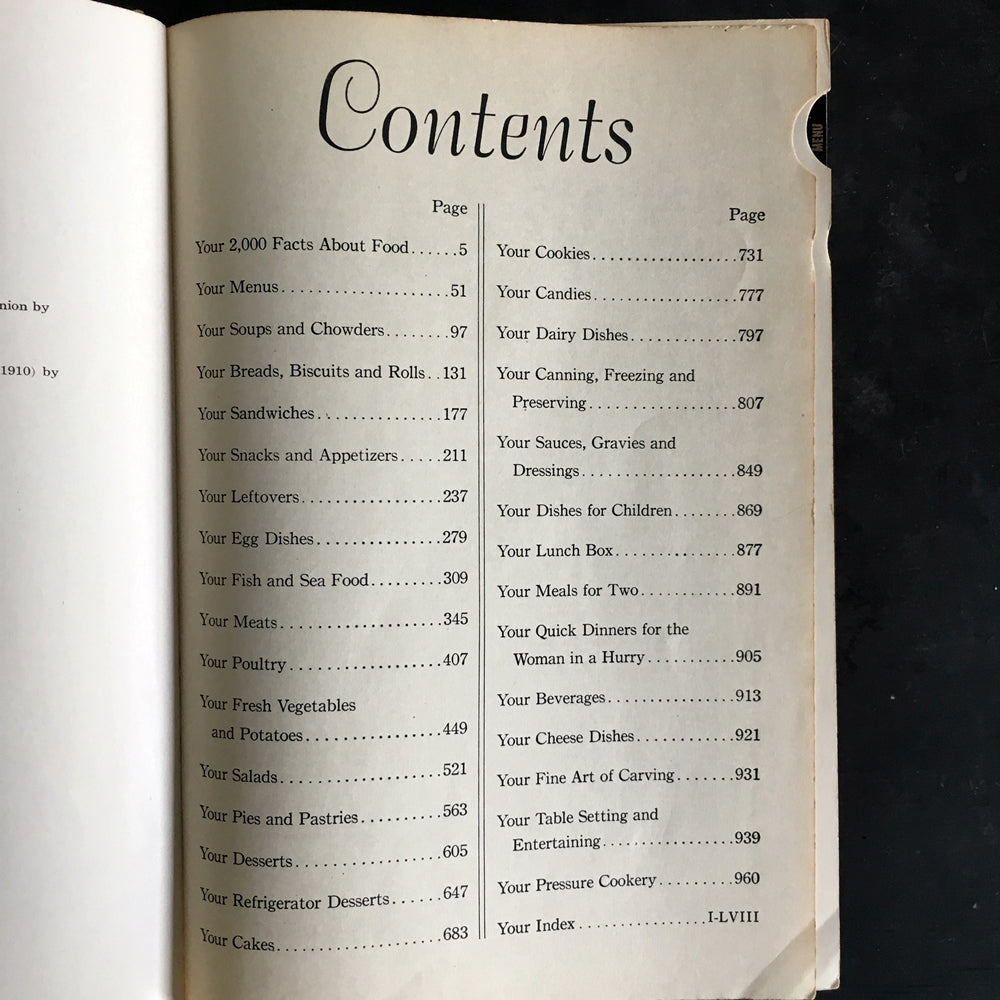 Culinary Arts Institute Encyclopedic Cookbook - Ruth Berolzheimer - 1948 Edition