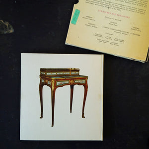 French Eighteenth Century Furniture - Genevieve Souchal - 1961 French Folio Design Book